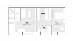 Scarabee Architecture   Surélévation plan