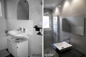 Scarabee Architecture | Sdb Avant / Apres