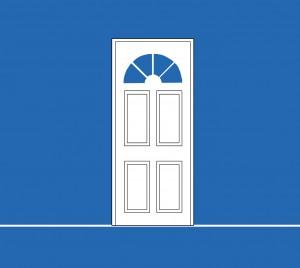 Sacbé Architecture | Logo Portes