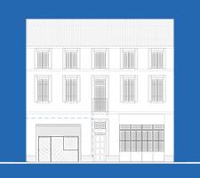 Bande habitée logo | Sacbé Architectes Bordeaux