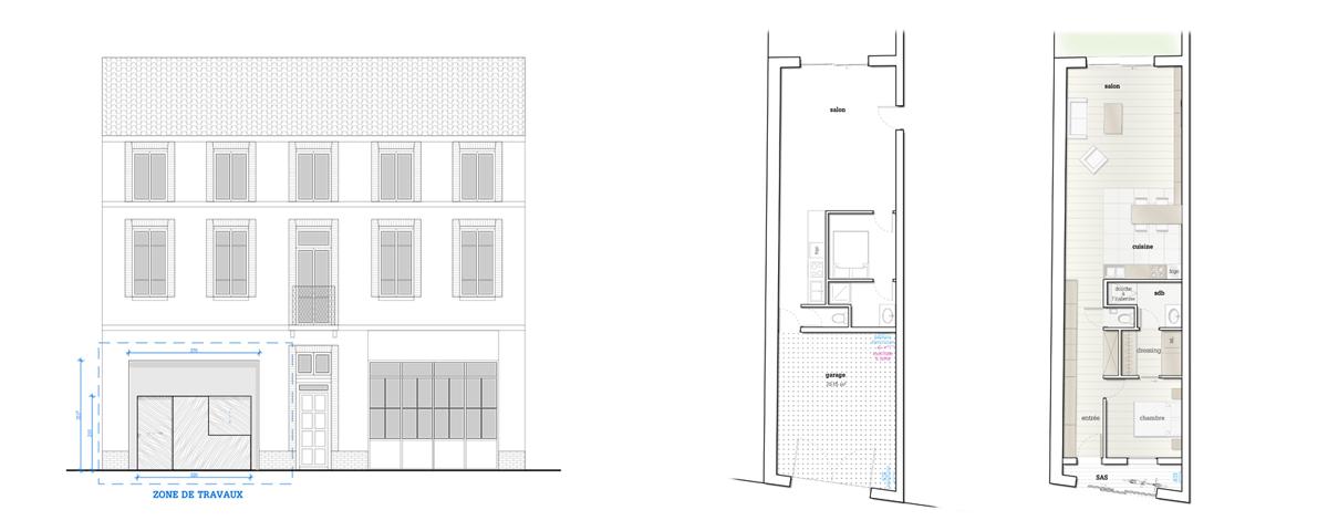 Sacbé Architecture | Teinturiers