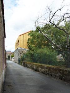 la maison derrière le mur   Sacbé Architectes Bordeaux