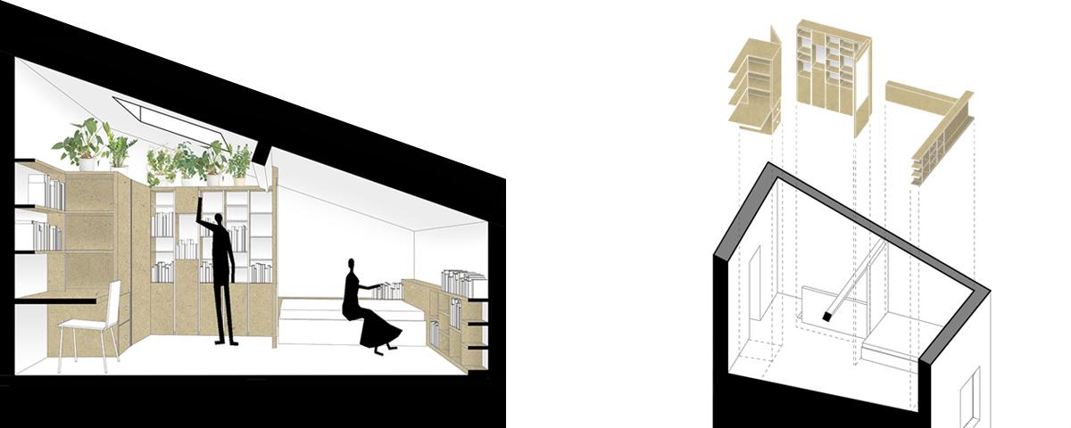 aménagement intérieur | Sacbé Architectes Bordeaux