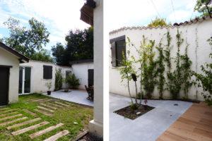 fenetre sur cour | Sacbé Architectes Bordeaux