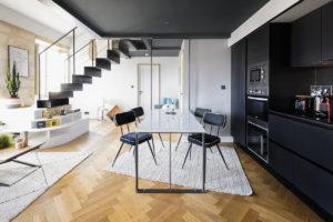 Le boudoir, la table et le chevet | Sacbé Architectes Bordeaux